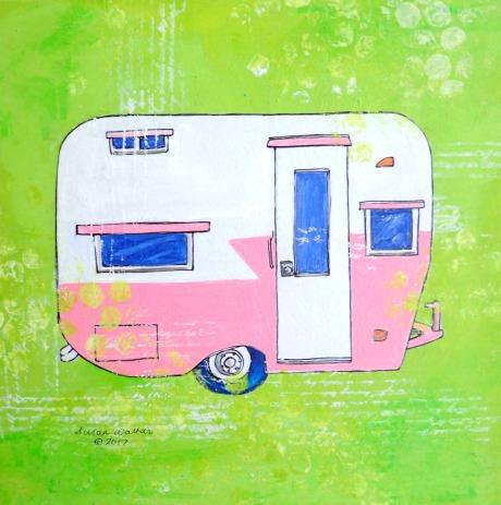 Pink Camper